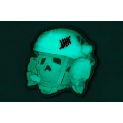 "R3ICH Patch ""TOTENKOPF 3D"" Glow"