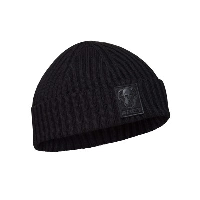 AREY Knitted hat Black