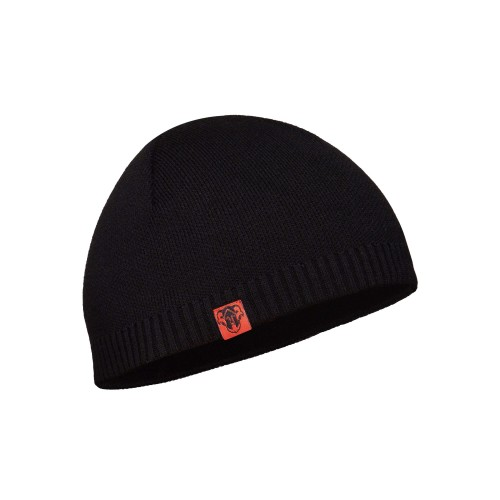 AREY Knitted hat with microfleece