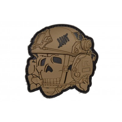 "R3ICH Patch ""TOTENKOPF 3D"" Coyote"