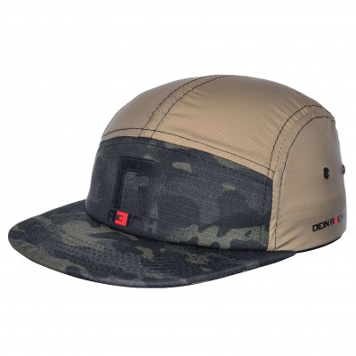 R3ICH 5-panel Baseball cap Multicamp Black