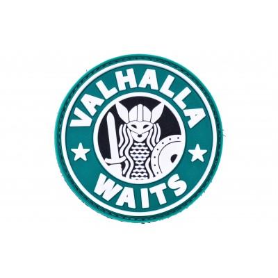 "R3ICH Нашивка /патч ""Valhalla and coffee"""