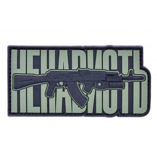 "R3ICH Patch ""AK47 HATE V2"" Olive"