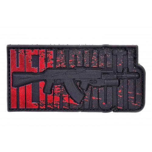 """R3ICH Patch """"AK47 HATE V2"""" Blood"""