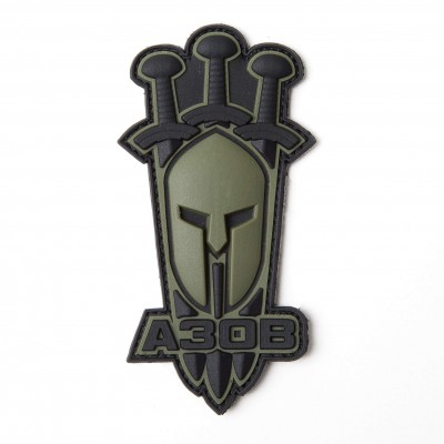 "AREY Patch ""Azov sword""  Olive"
